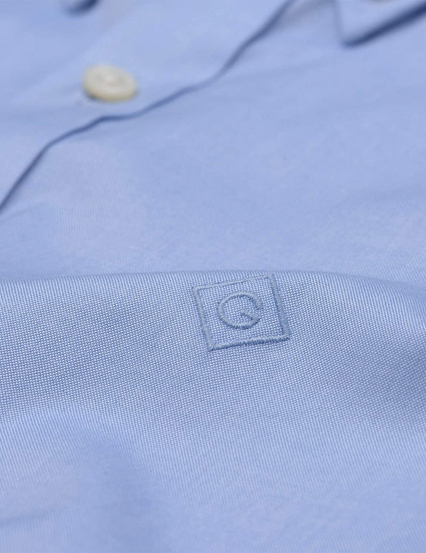 GANT Men's The Oxford Shirt Reg Bd Casual Blue