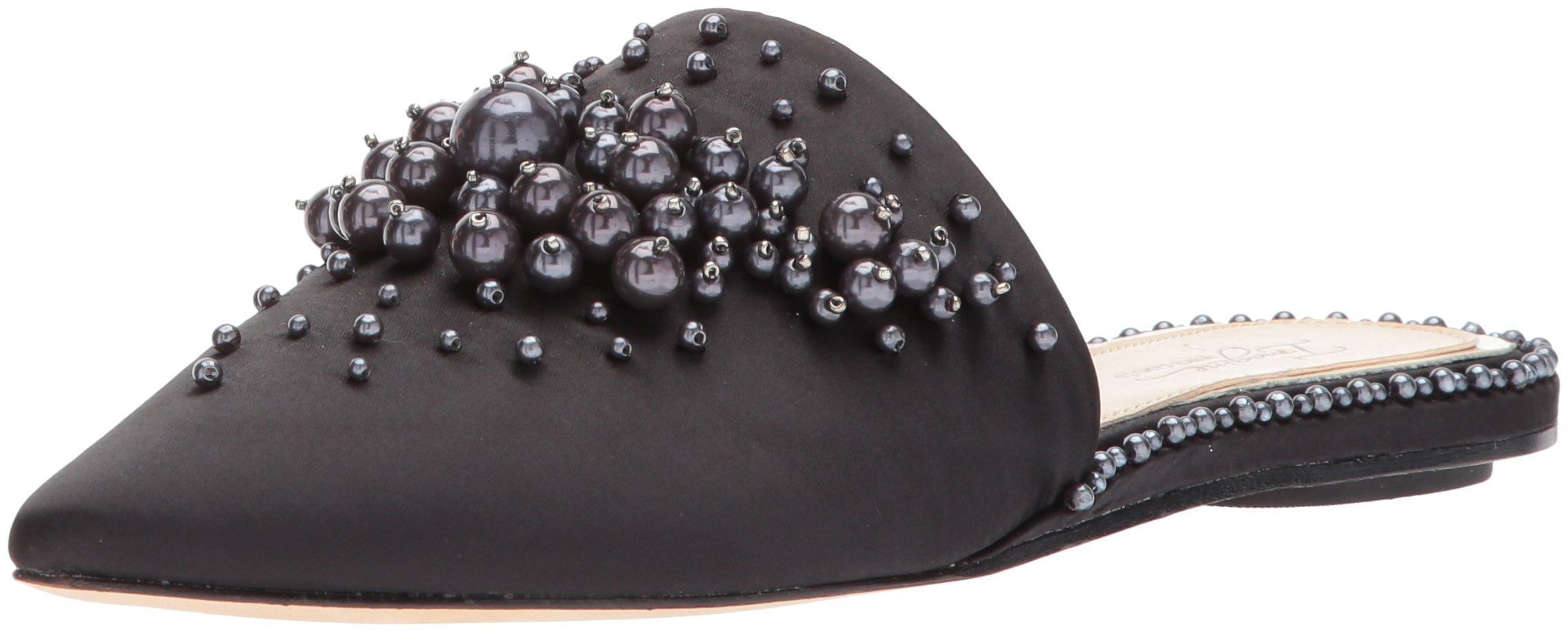 Imagine Vince Camuto Women's CASELE Slipper, Black, 8 Medium US