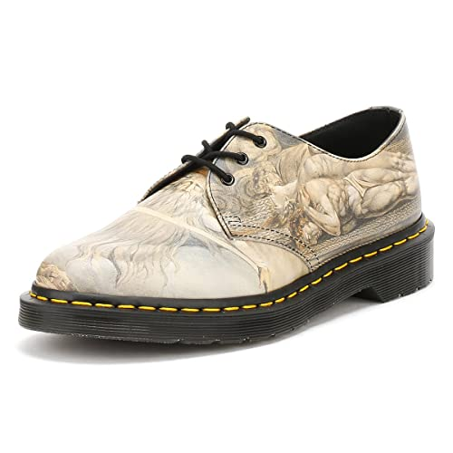 Dr Martens Unisex 1461 William Blake 3-Eye Leather Lace Up Shoe  White-White-3 Size 3  Amazon.it  Scarpe e borse a01a7a4c17c