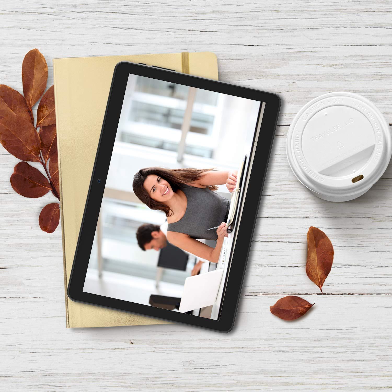 iRULU Tablette 10.1 Pouces Android 6.0 3G Phablet Pad Deux Emplacements pour Carte SIM et Appareil Photo WiFi Bluetooth Quad Core MTK6580 Affichage IPS /É cran Tactile 1280x800 Appel T/é l/é phonique X10-F