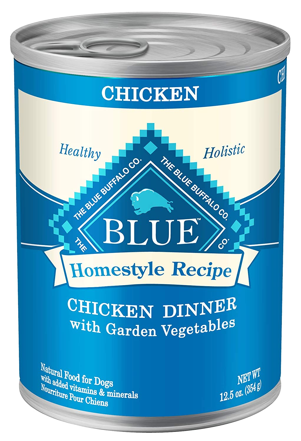 3. Blue Buffalo Homestyle Recipe Chicken Canned Dog Food