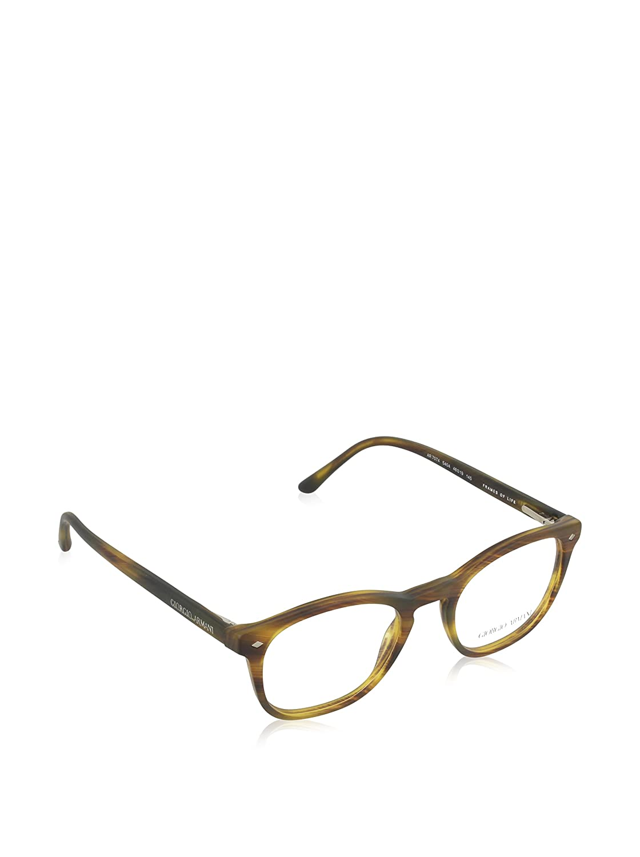 46381db9460 Giorgio Armani AR7074 Glasses in Matte Black AR7074 5042 50 50 Clear   Amazon.ca  Luggage   Bags