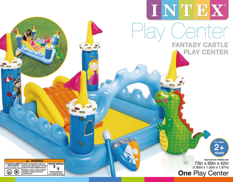 Amazon.com: Intex Fantasy Castillo hinchable para juegos de ...