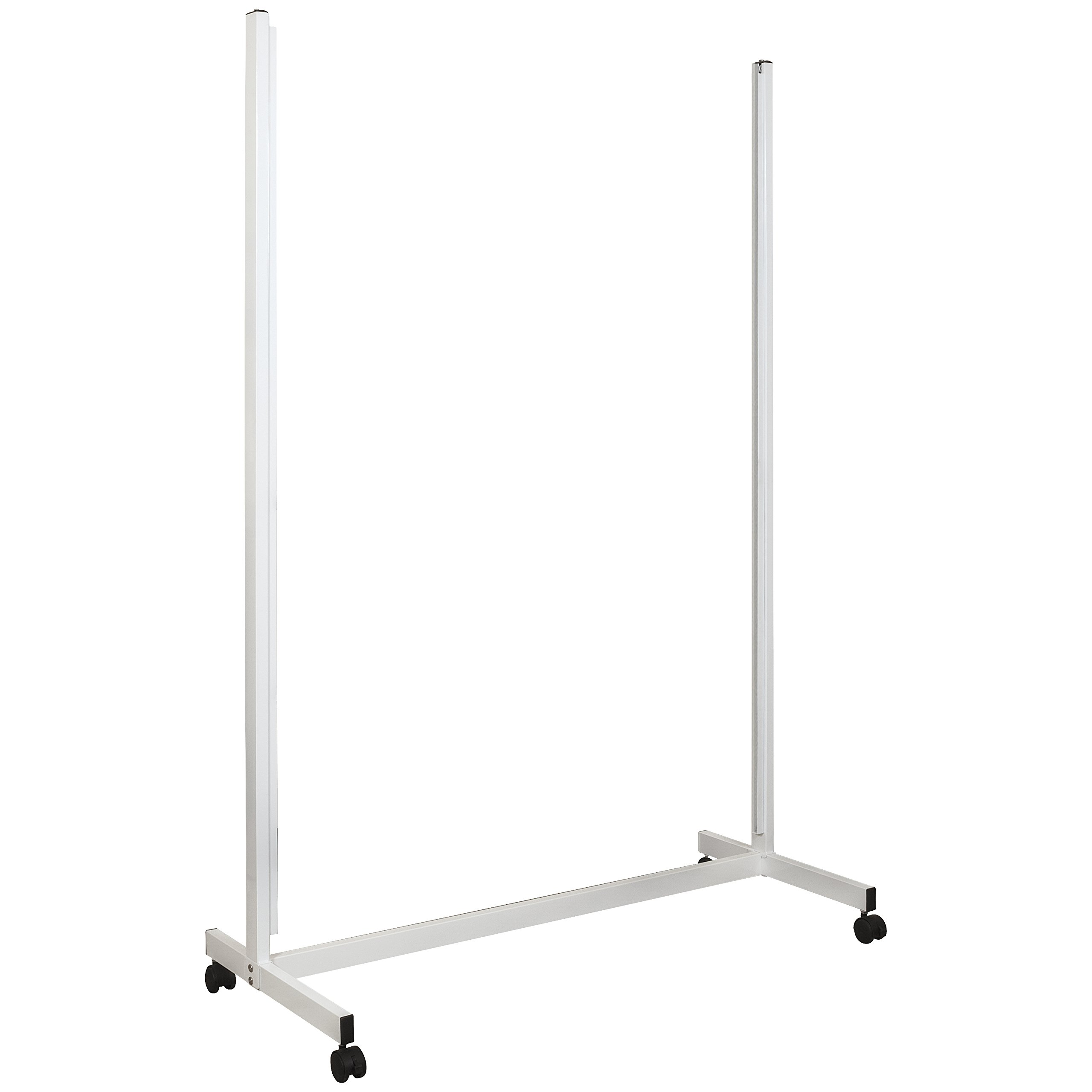 Balt Essentials Mobile Vertical Sliding Whiteboard, Stand Only, Box 2 of 2 and must order box 1 to complete unit (84187)