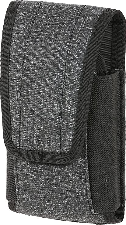 online retailer 9608e 72ee5 Maxpedition Gear Entity Utility Pouch Large Fits Regular & Plus Size  iPhone, Charcoal
