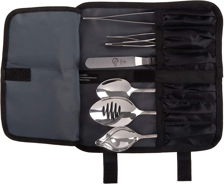Mercer Culinary - Cubertería enchapada en Acero Inoxidable, Color Plateado