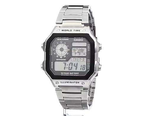 Amazon.com: Casio Reloj digital para hombre, Vestido: Casio ...