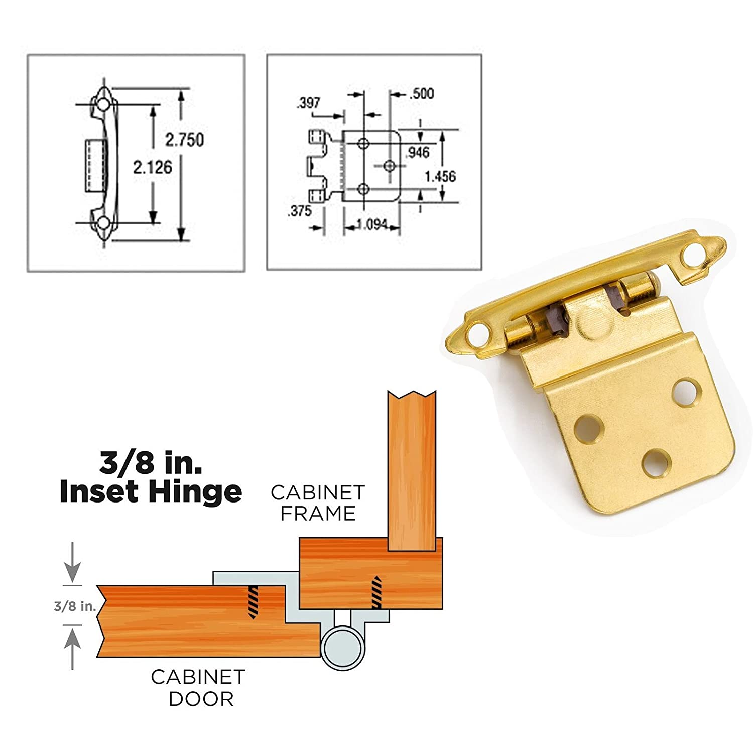 Superb 3 8 Inset Cabinet Hinges Face Mount Self Closing Cabinet Door Hinges Inset Goldenwarm Brass Stainless Steel Inset Hinges For Kitchen Cabinets Download Free Architecture Designs Embacsunscenecom