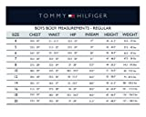 Tommy Hilfiger Boys' Pinpoint Oxford Shirt, White, 16