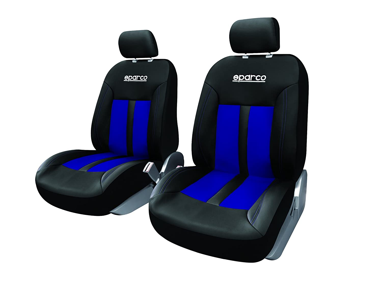 SEAT IBIZA ALL MODELS Heavy Duty Black Waterproof Car Seat Covers  Front Pair