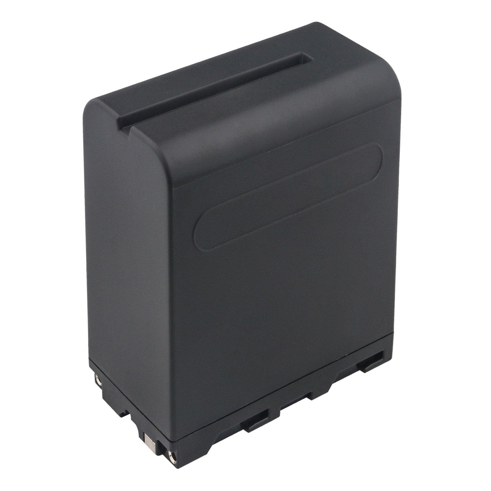 Kastar LED Super Fast Charger & Camcorder Battery X2 for Sony NP-F990 NP-F975 NP-F970 NP-F960 NP-F950 NP-F930 NP-F770 NP-F750 NP-F730 NP-F570 NP-F550 NP-F530 NP-F330 Battery and LED Video Light by Kastar (Image #2)