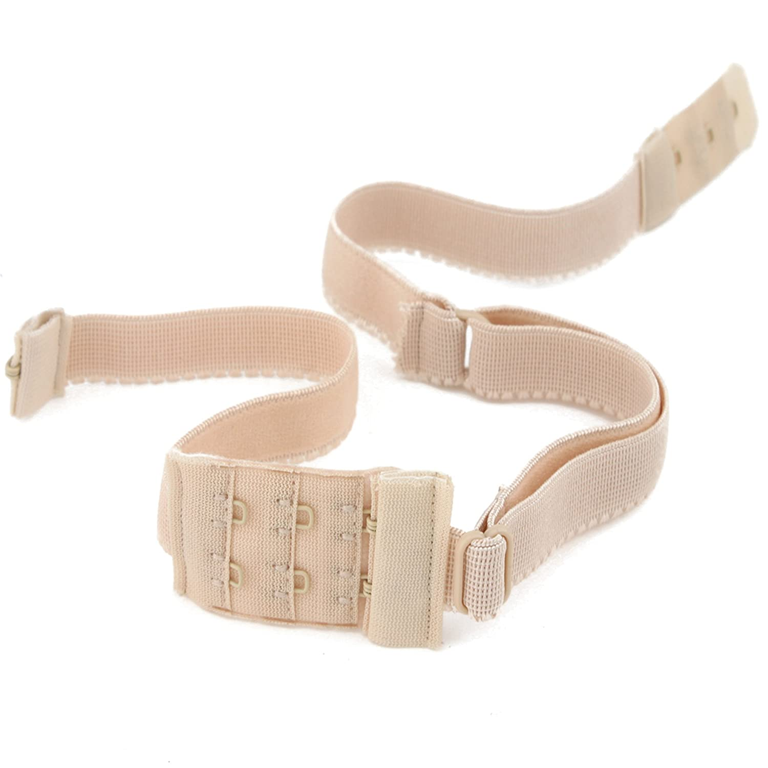 BACKLESS BRA STRAP LOW BACK STRAP CONVERTER - Chose your colour WHITE - BLACK or NUDE or Buy All 3 & Save £2.00 (NUDE)