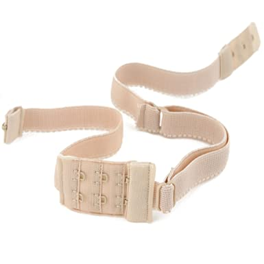 052357c0fb BACKLESS BRA STRAP LOW BACK STRAP CONVERTER - Chose your colour WHITE -  BLACK or NUDE