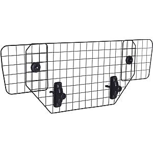 PawHut Rejilla Separador Perro Coche Extensible Universal Reja de Seguridad Barrera para Perro y Maletas Mascota