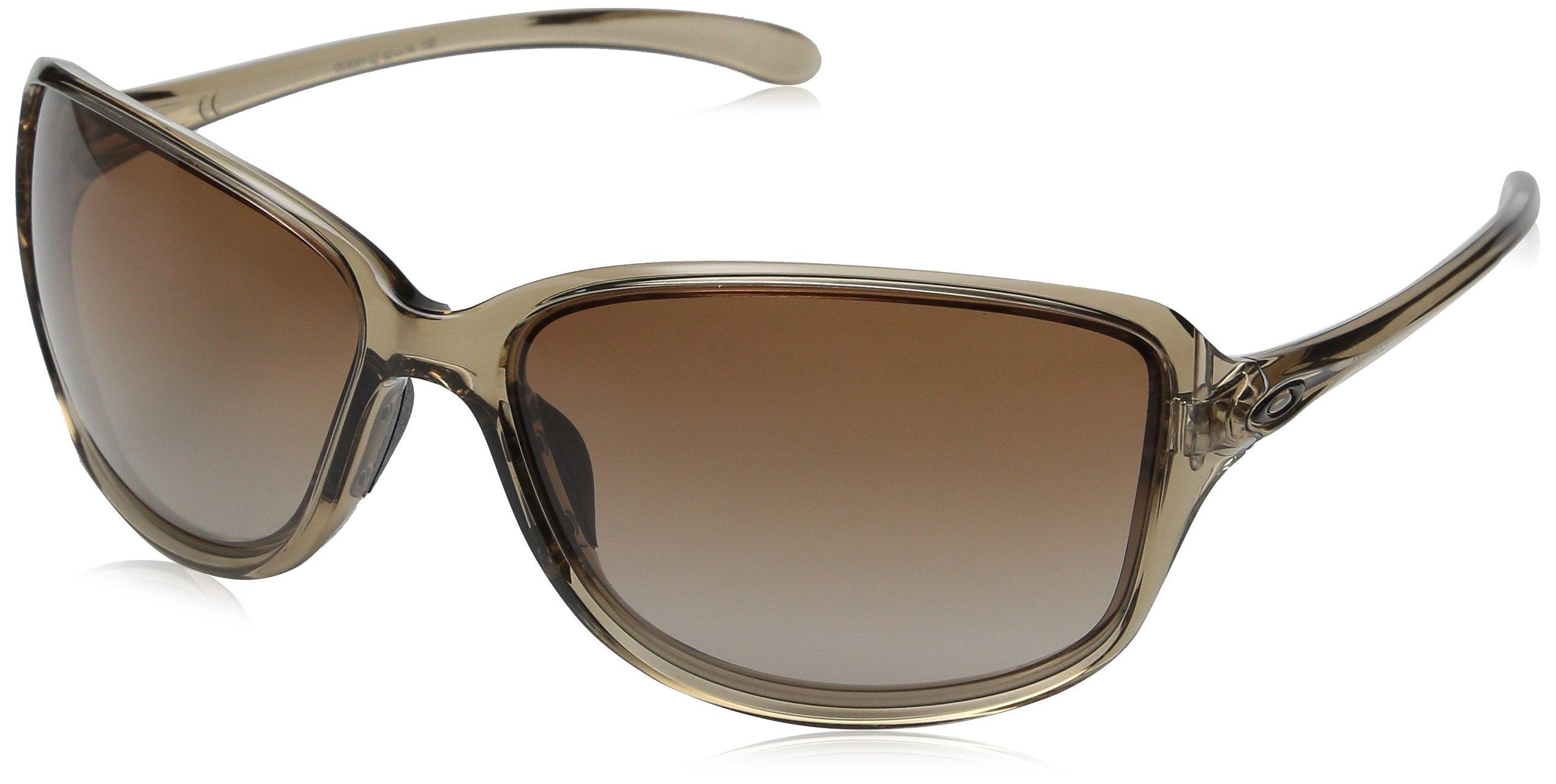 Oakley Women's Cohort Rectangular Sunglasses SEPIA 62.0 mm