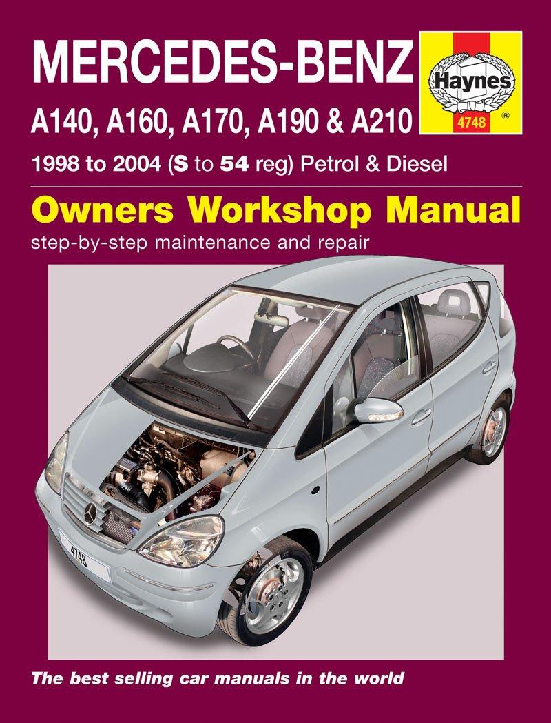 Mercedes Benz A Class Repair Manual Haynes Manual Service Manual Workshop  Manual 1998-2004: Amazon.co.uk: Car & Motorbike