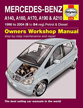 mercedes benz a class repair manual haynes manual service manual rh amazon co uk New Class Mercedes- Benz W124