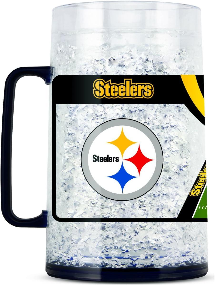 NFL Pittsburgh Steelers 38oz Crystal Freezer Monster Mug