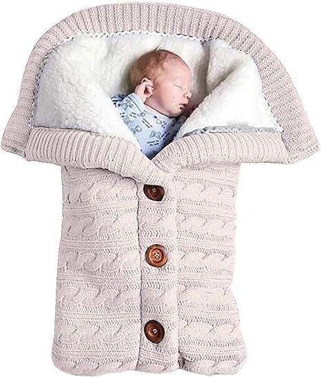 Newborn Baby Bear Hoodie Pram Sleeping Bags Swaddle Wrap Warm Fleece Blanket