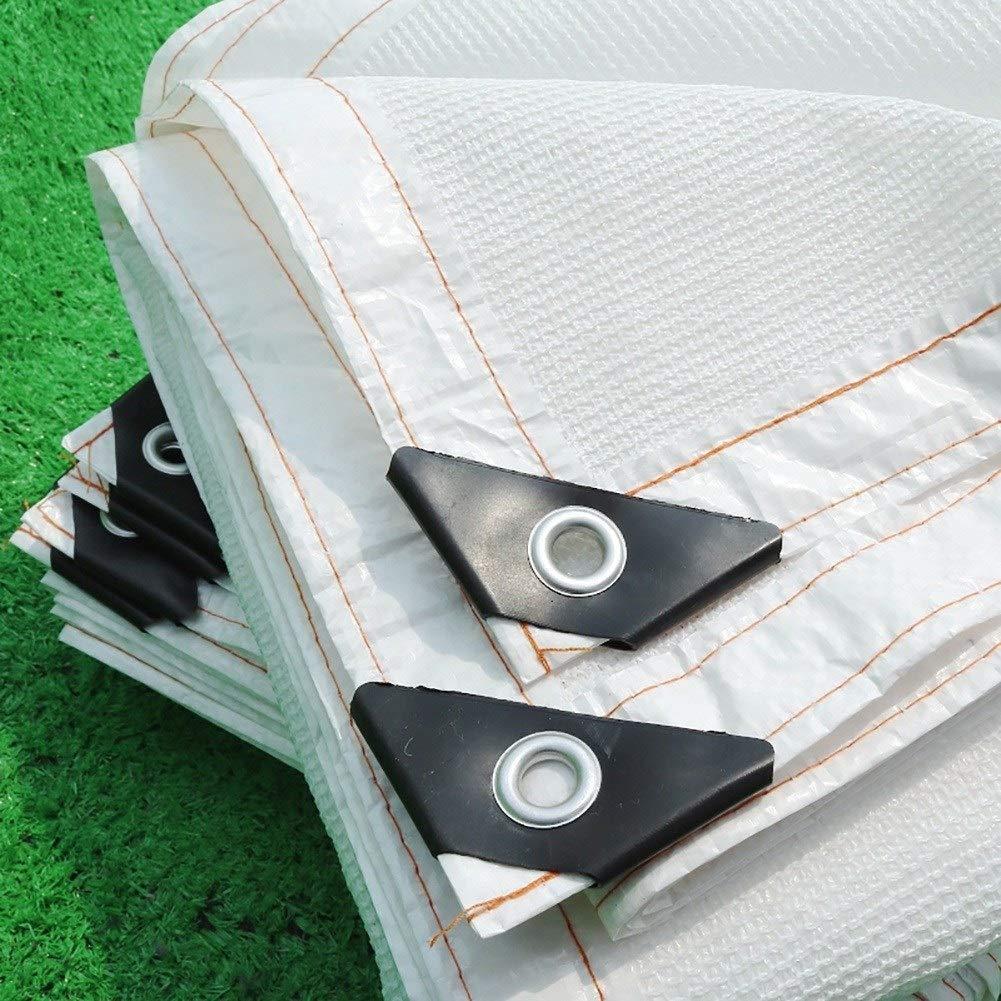 ZXL Pantalla de Tela 90% Red de Malla de protección Solar Transpirable con Ojal para Pergola Canopy Garden Outdoor (Color: Blanco, Tamaño: 6.5x3.2ft): Amazon.es: Jardín