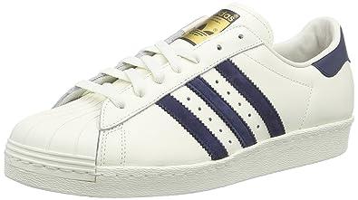 Adidas Superstar 80s Deluxe, Herren Sneakers, Weiß (Vintage Weiß