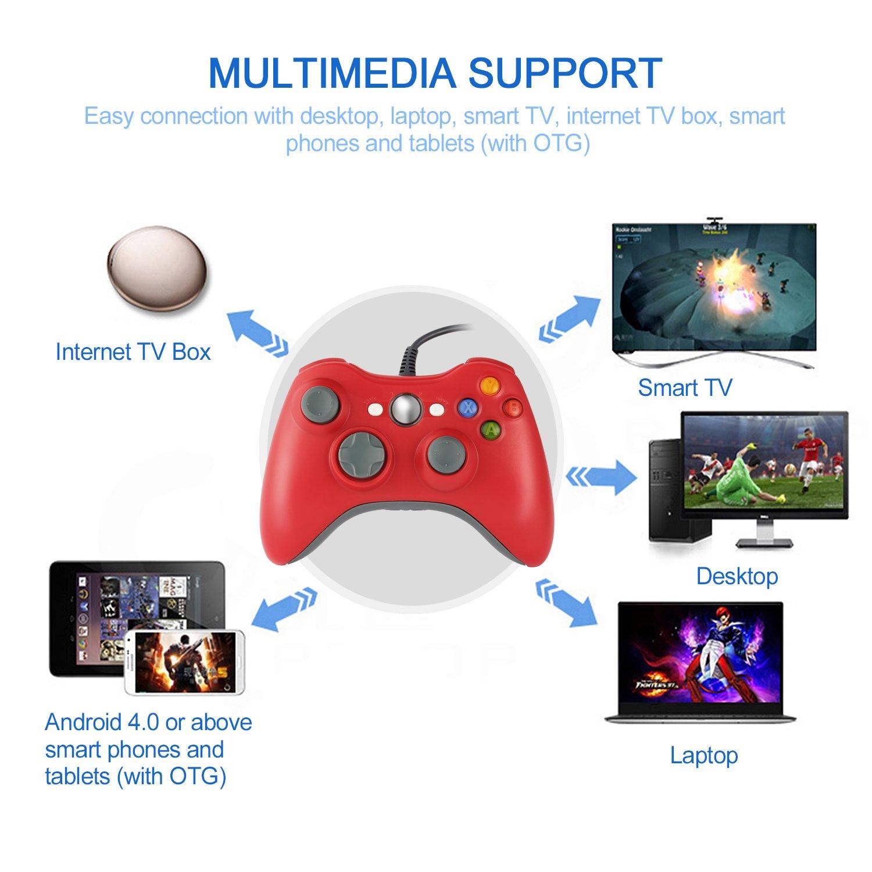Homgrace XBOX 360 Controller USB Gamepad Game: Amazon.de: Elektronik