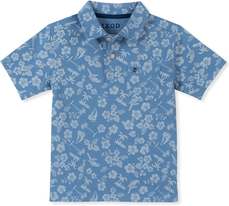 IZOD Boys Short Sleeve Printed Polo Shirt