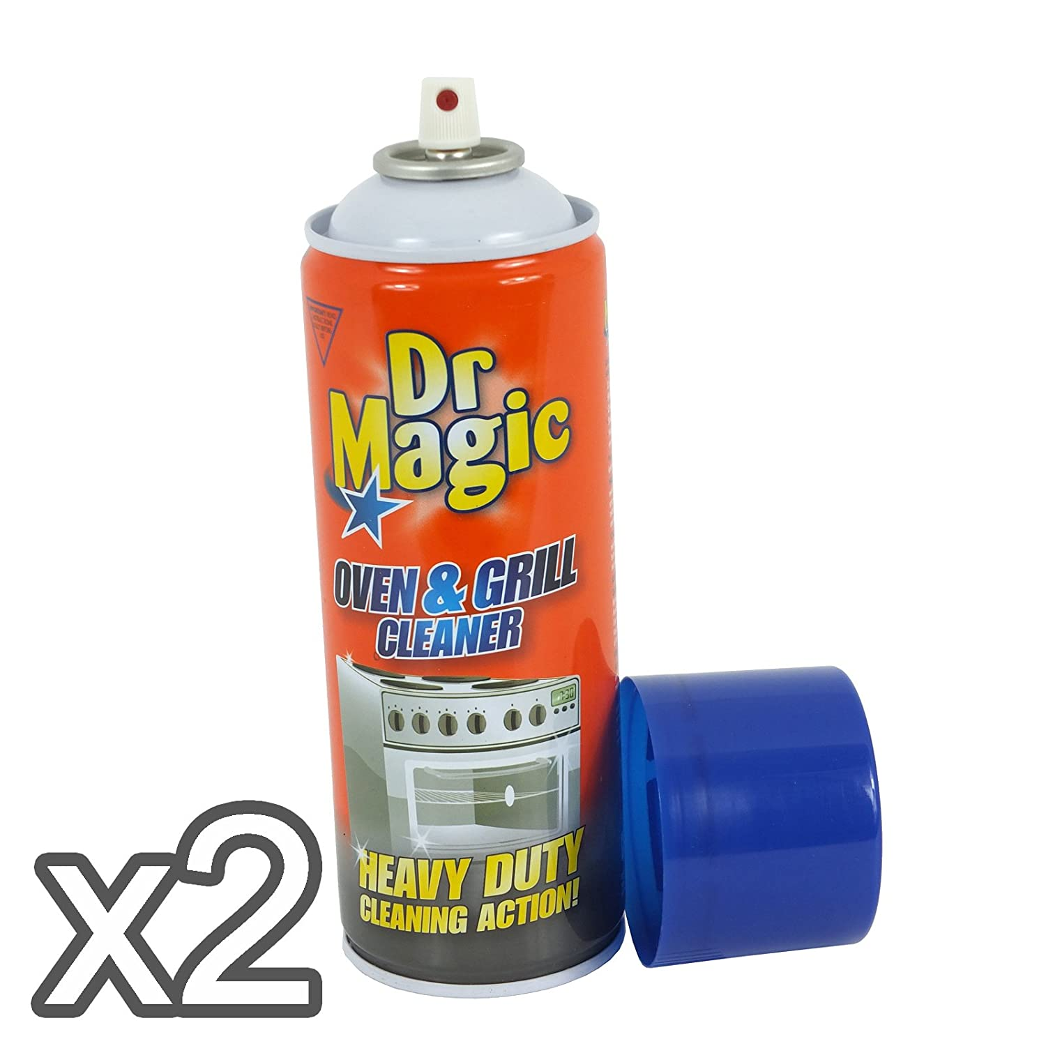 Dr Magic Oven & Grill Cleaner (Pack of 2)