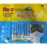 Me-O Creamy Treats Chicken & Liver Flavour (Pack of 20)