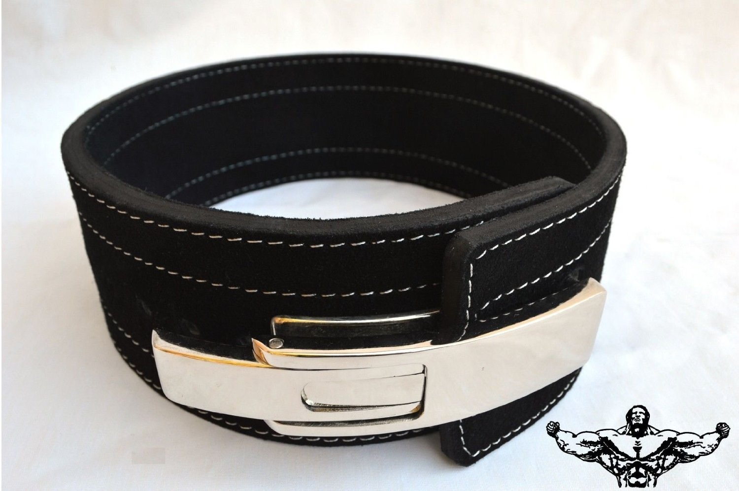 Quest Athletics Powerlifting Belt with Lever Buckle