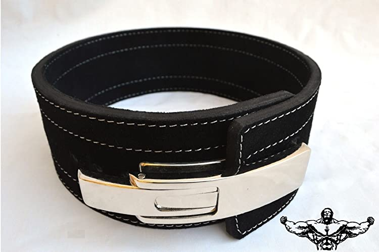 Quest Powerlifting Belt With Lever Buckle