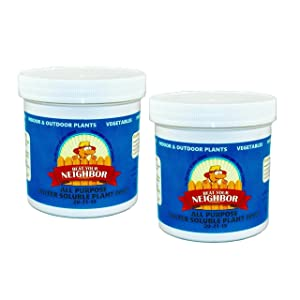 2 Pack (Save $3) Beat Your Neighbor Plant Food & Fertilizer - Makes 180+ gallons!