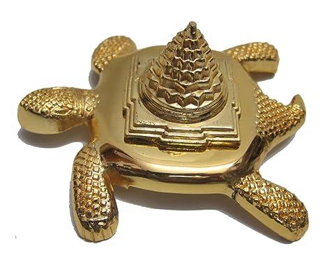 Tortoise Meru Shree Yantra To Increase Positive Energy Puja Articles at amazon