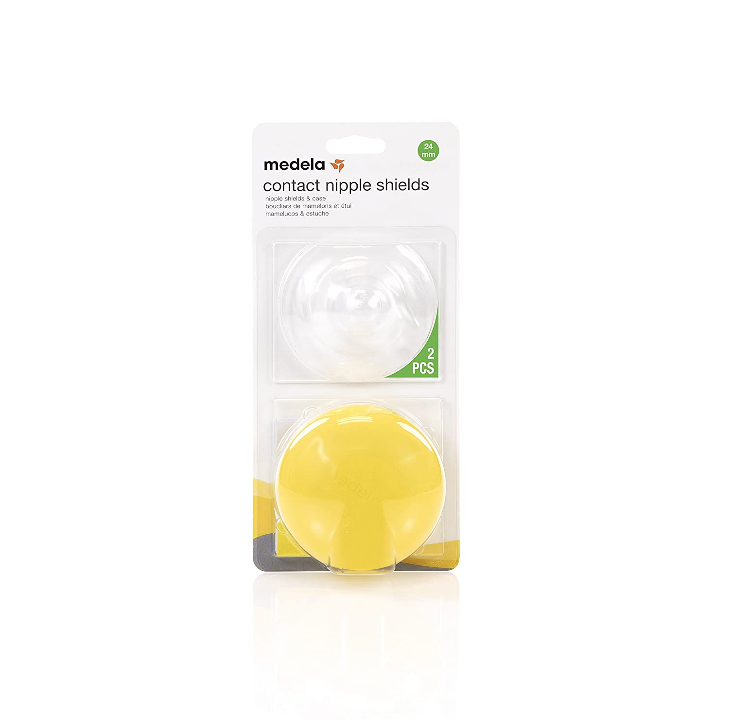 Medela, Contact Nipple Shields, 16mm Nipple Shield, Unique Cut-Out Shape, Available in Different Sizes,...