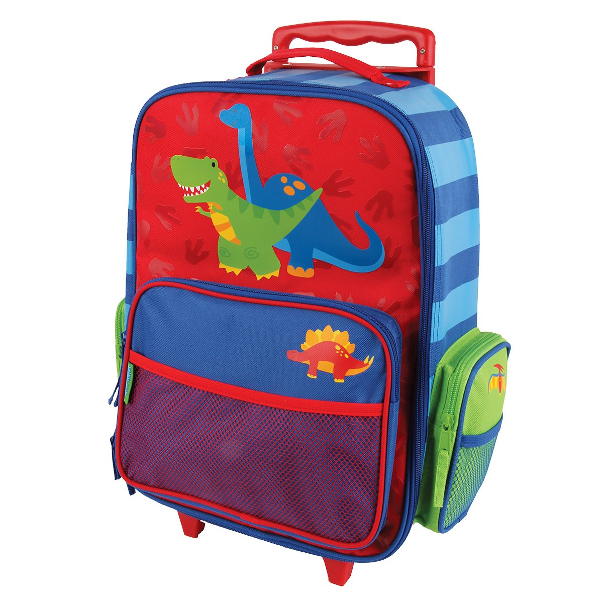 Stephen Joseph Classic Rolling Luggage, Red Dino by Stephen Joseph