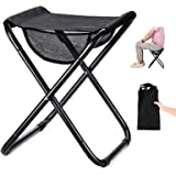 Camping Stool Folding Stool Lightweight Portable Stool High-Strength Collapsible Stool Folding Camp Chair for Adults,Travelin