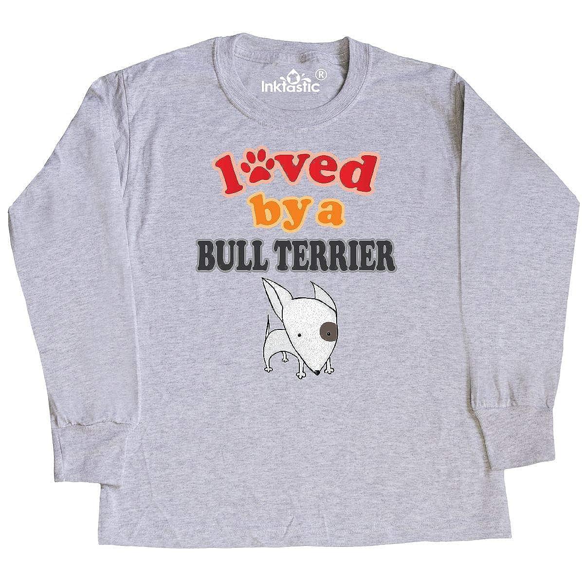 inktastic Bull Terrier Dog Puppy Baby T-Shirt