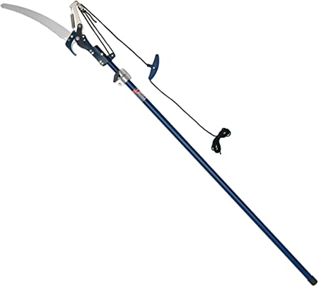 Spear and Jackson Telescopic Tree Pruner Pole Trimmer Branch Cutter Saw NEW