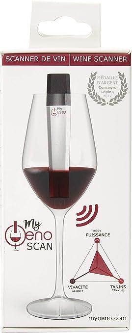MyOeno El sumiller conectado que analiza el vino que saborea. El accesorio esencial para todos los amantes del vino ...