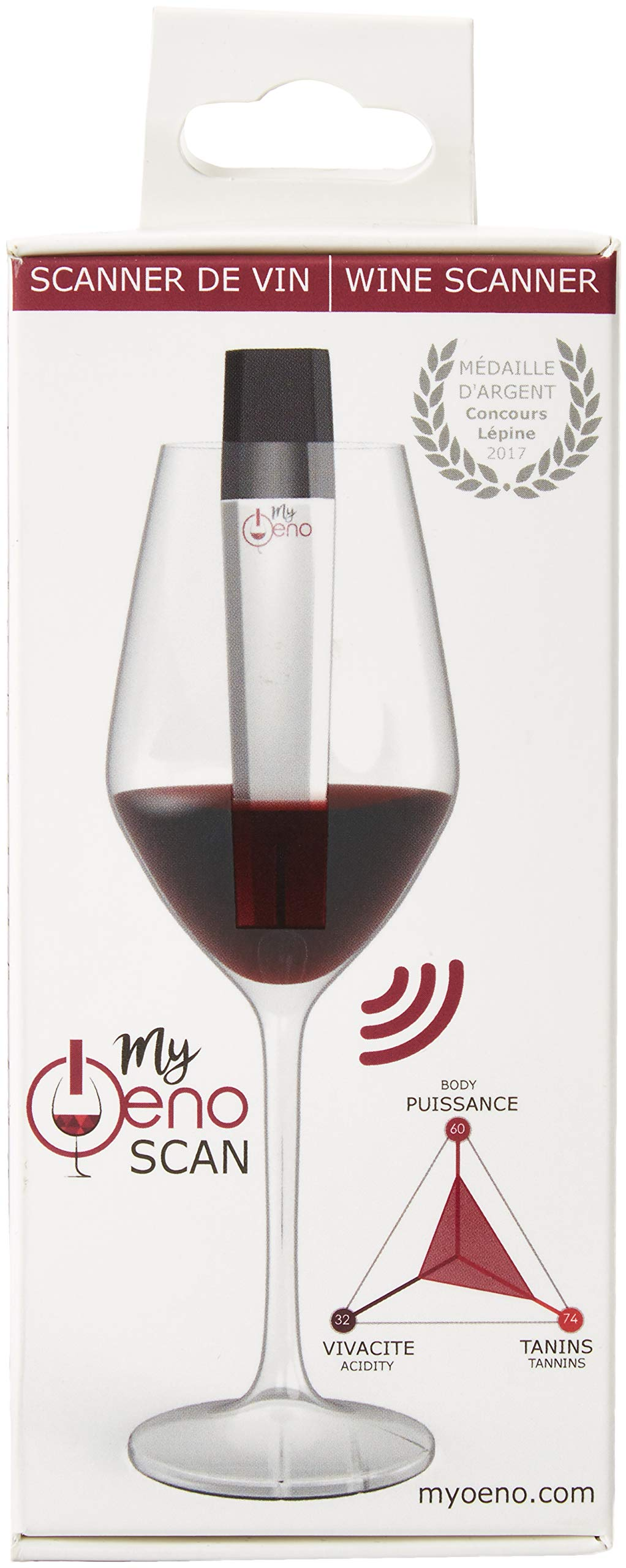 MyOeno The Smart Wine Scanner - Extract All The Relevant Information About Your Wine into Your Smartphone.