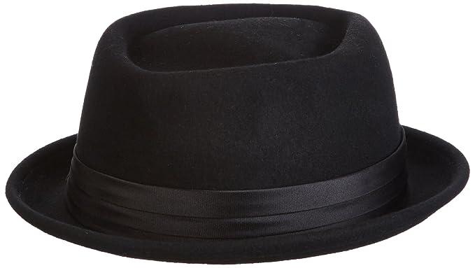 45624c1395a Amazon.com  Brixton Men s Stout Pork Pie Hat  Clothing