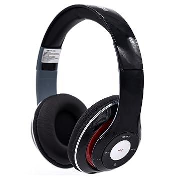 SoundLogic XT inalámbrico Bluetooth plegable auriculares de diadema con micrófono: Amazon.es: Electrónica