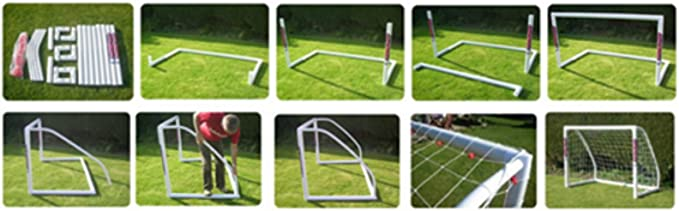 Match Grade 8x4- Our Top line Premier Locking uPVC Goal That is Perfect for Field or Home Made in The UK. Samba Soccer Goal Great All Weather Goal so Leave it Out All Year