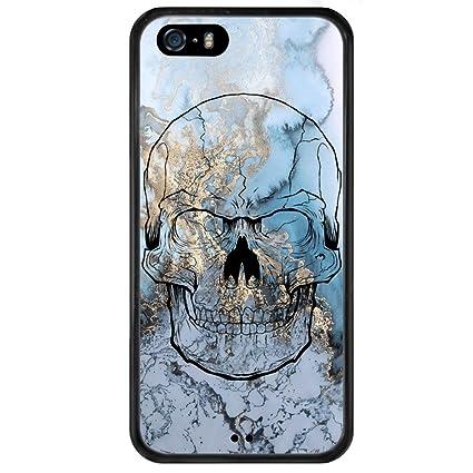 Amazon.com: Mármol iPhone 5S teléfono caso, a prueba de ...