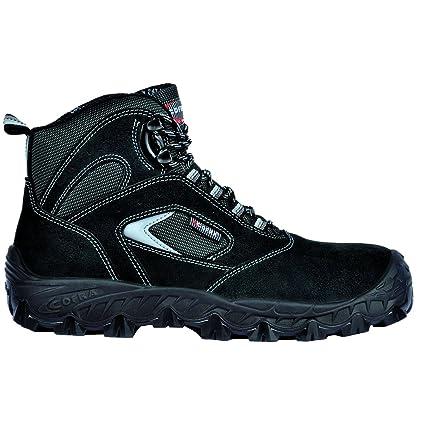 Cofra NEW Egeo S1 P SRC par de zapatos de seguridad talla 36 NEGRO