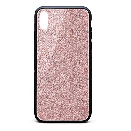 Amazoncom Iphone Xs Max Case Marble Pretty Pink Rose Gold