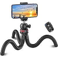 Cocoda Statyw do telefonu komórkowego, elastyczny kijek do selfie do smartfona, Bluetooth Tripod ze zdalnym wyzwalaczem…
