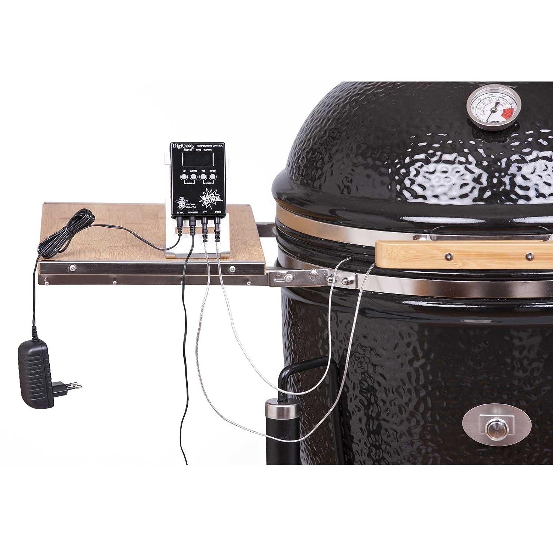 MONOLITH EDITION BBQ GURU DIGIQ DX2 für Monolith Keramikgrill Junior Grill