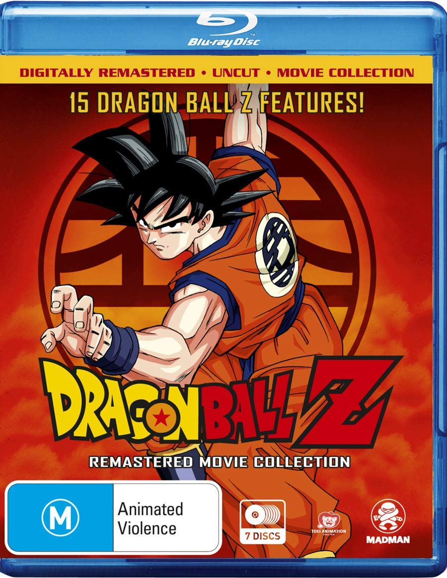 Dragon Ball Z : Collection : Remastered : Uncut 7 Blu-Ray Edizione ...