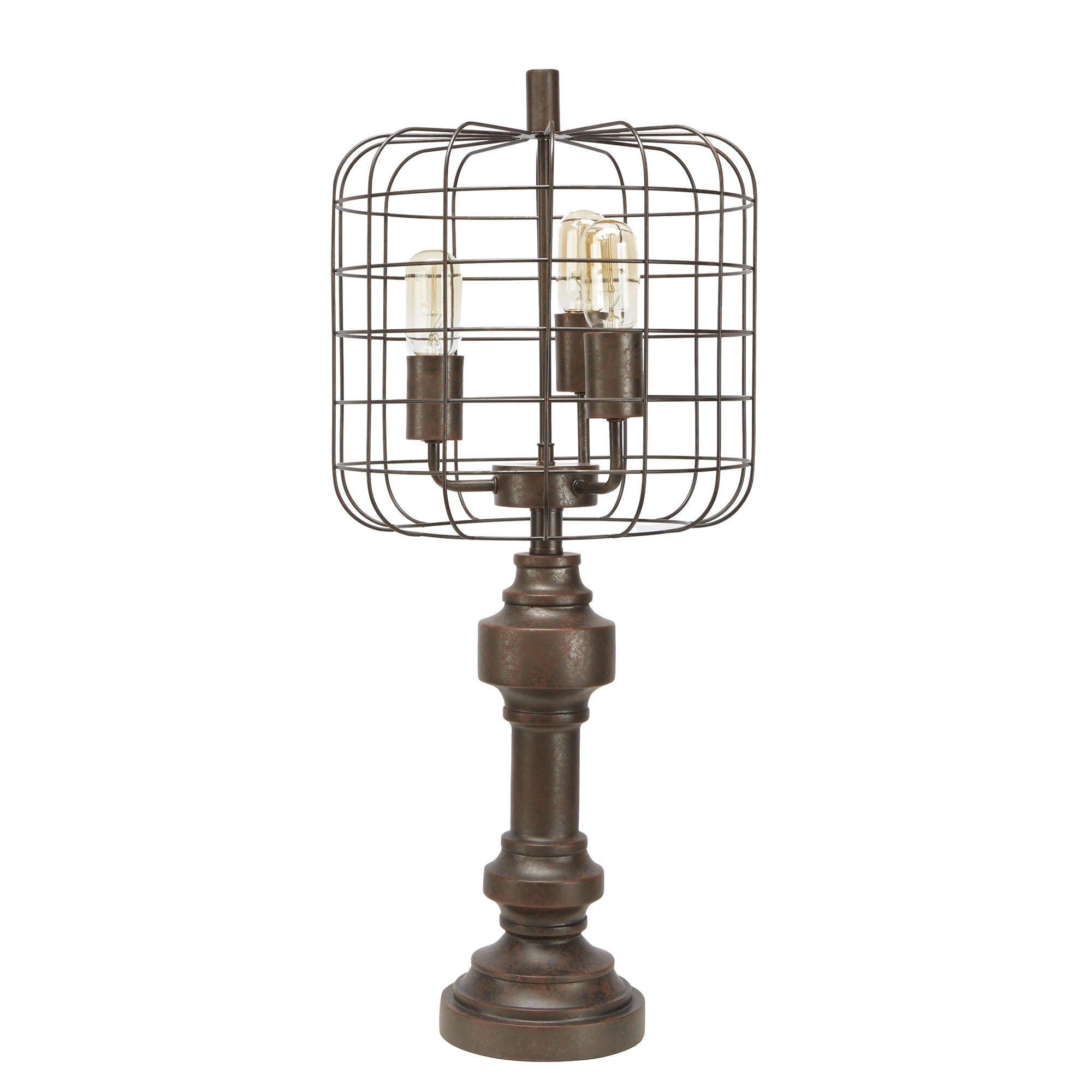 Silverwood LT1596 Thom Table Lamp, Bronze